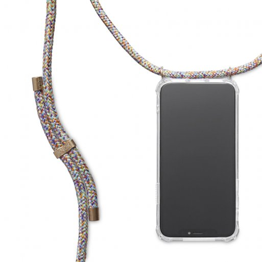 iPhone 11 Pro Max Handyhülle Knok iPhone Necklace - Mehrfarbig
