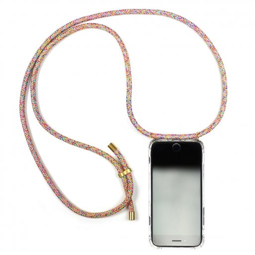 iPhone SE 2 (2020) Handyhülle Knok iPhone Necklace - Mehrfarbig