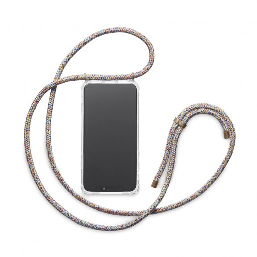 iPhone 12 mini Handyhülle Knok iPhone Necklace - Mehrfarbig