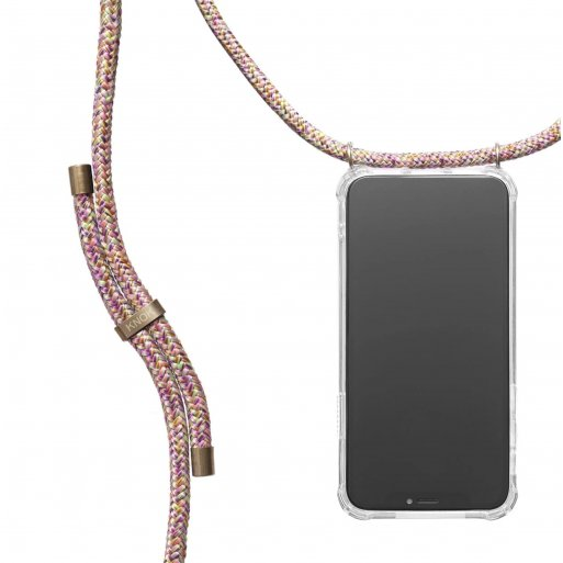 iPhone 13 Pro Max Handyhülle Knok iPhone Necklace - Mehrfarbig