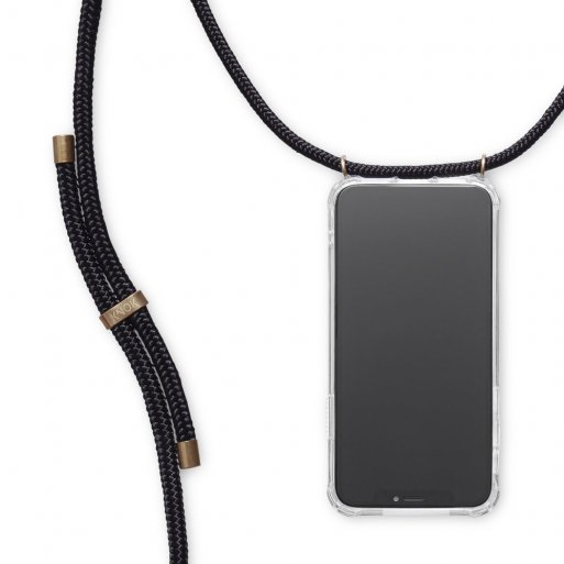 iPhone 11 Handyhülle Knok iPhone Necklace - Schwarz