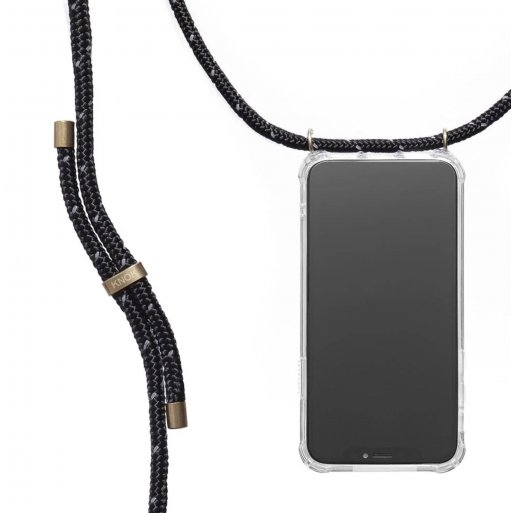 iPhone 13 Handyhülle Knok iPhone Necklace - Schwarz