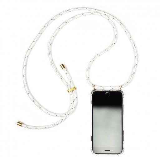 iPhone XS Max Handyhülle Knok iPhone Necklace - Weiss