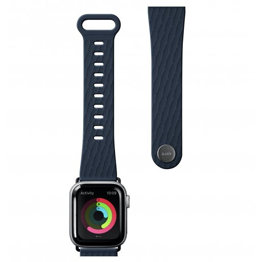 Apple Watch 3 42mm Armband LAUT ACTIVE 2.0 Armband 42/44mm - Dunkelblau