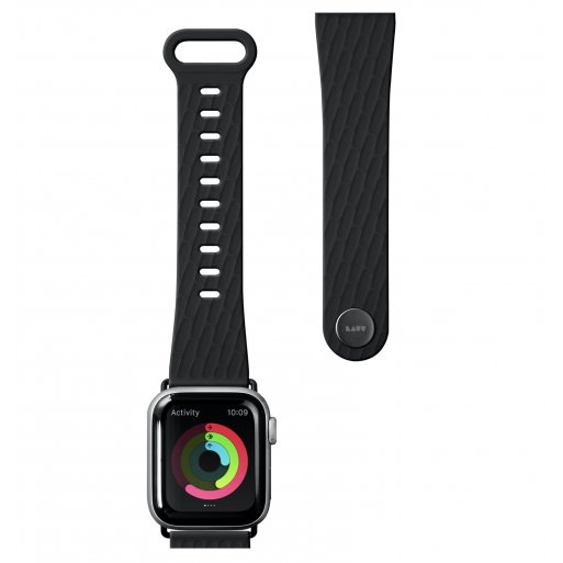 Apple Watch 5 44mm Armband LAUT ACTIVE 2.0 Armband 42/44mm - Schwarz