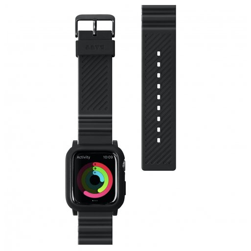 Apple Watch 3 42mm Armband LAUT AW IMPKT Armband 42/44mm - Schwarz
