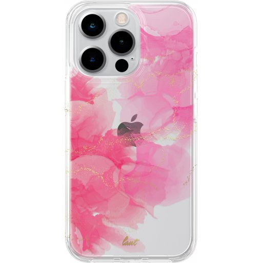 iPhone 13 Pro Max Handyhülle LAUT CRYSTAL INK - Rosa-Gold