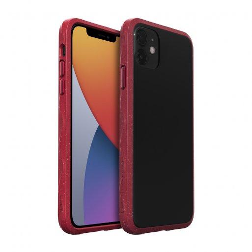 iPhone 12 mini Handyhülle LAUT CRYSTAL MATTER IMPKT- Hardcase mit schlankem Profil & starkem Aufprallschutz bei Stürzen und Stössen für iPhone 12 mini - Rot