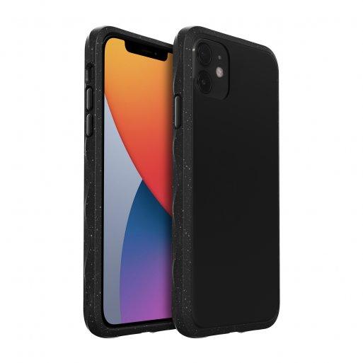 iPhone 12 Pro Max Handyhülle LAUT CRYSTAL MATTER IMPKT- Hardcase mit schlankem Profil & starkem Aufprallschutz bei Stürzen und Stössen für iPhone 12 Pro Max - Schwarz