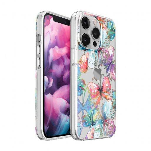 iPhone 13 Pro Handyhülle LAUT CRYSTAL PALETTE - Hellblau-Rosa