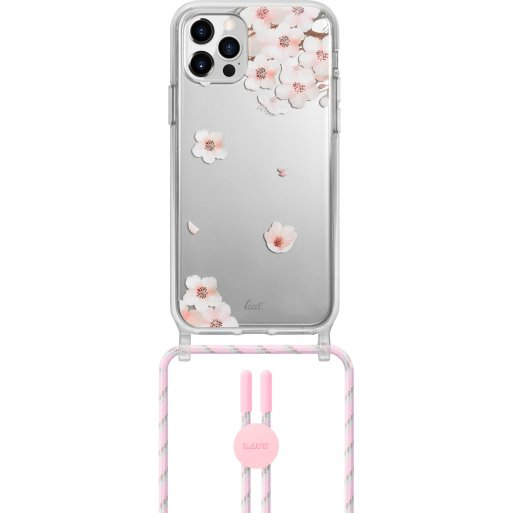 iPhone 12 Pro Max Handyhülle LAUT CRYSTAL POP Necklace - Pink