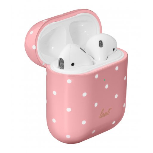 AirPods Case LAUT Dotty für Apple AirPods - Pink