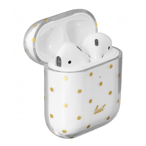 AirPods Case LAUT Dotty für Apple AirPods - Transparent