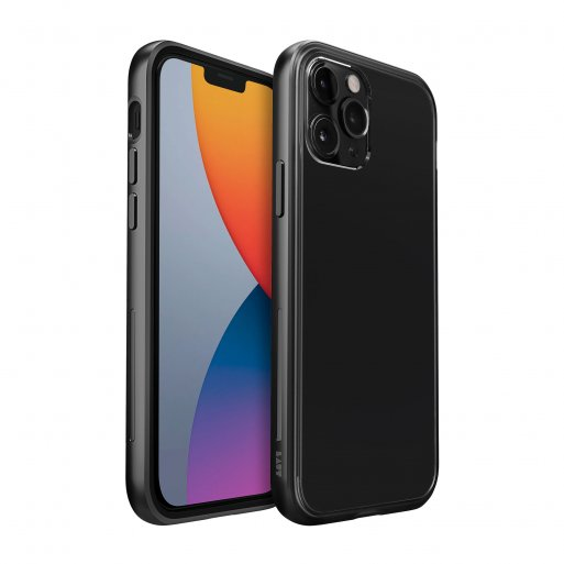 iPhone 12 Pro Handyhülle LAUT EXOFRAME - Schwarz