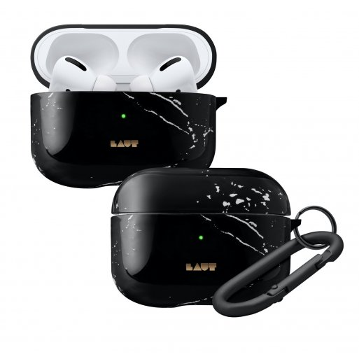 AirPods Case LAUT HUEX ELEMENTS für Apple AirPods Pro - Schwarz
