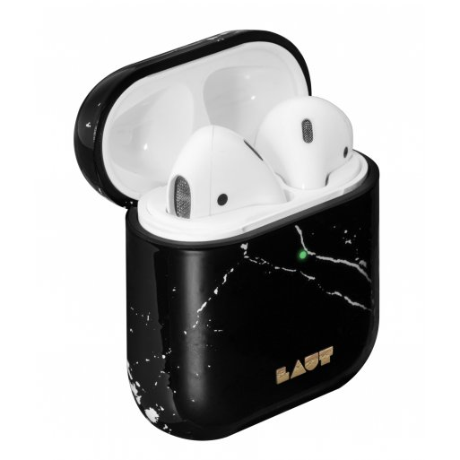 AirPods Case LAUT HUEX ELEMENTS für Apple AirPods - Schwarz