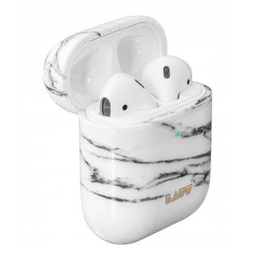 AirPods Case LAUT HUEX ELEMENTS für Apple AirPods - Weiss