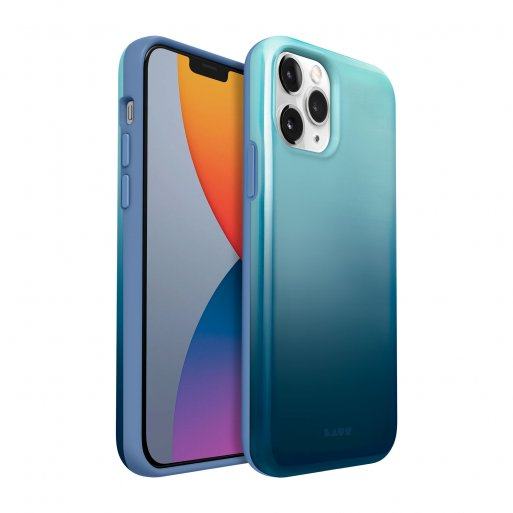 iPhone 12 mini Handyhülle LAUT HUEX FADE - Blau