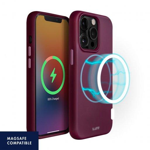 iPhone 13 Pro Max Handyhülle LAUT HUEX (MagSafe) - Bordeaux
