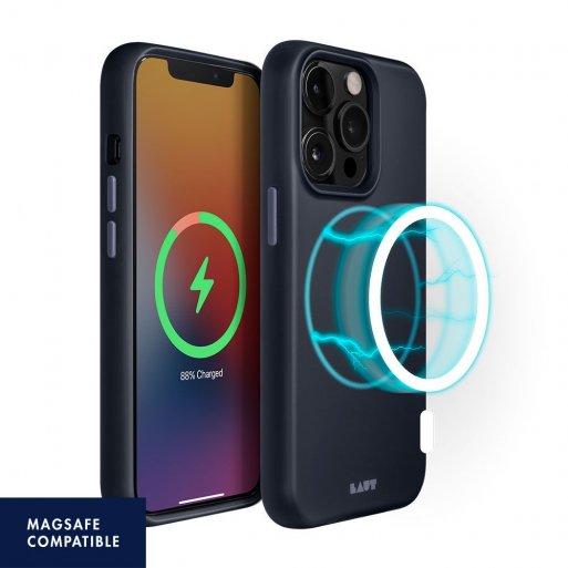 iPhone 13 Pro Max Handyhülle LAUT HUEX (MagSafe) - Dunkelblau