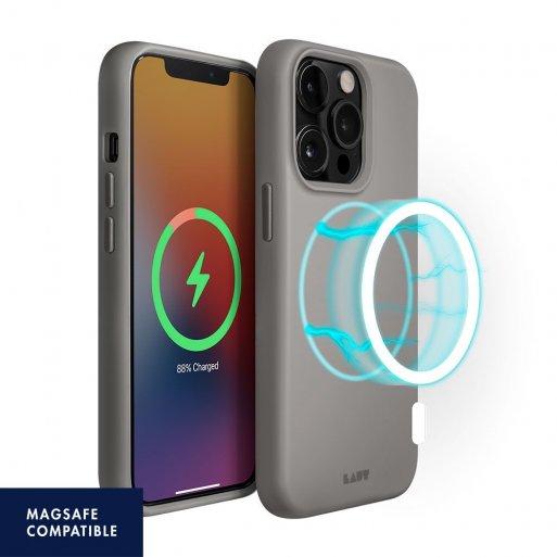 iPhone 13 Pro Max Handyhülle LAUT HUEX (MagSafe) - Grau