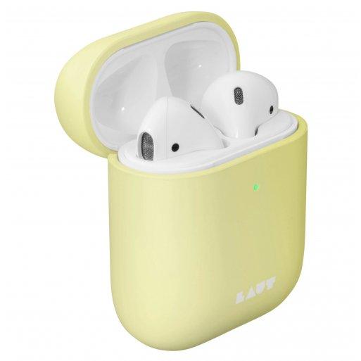 AirPods (1. & 2.Gen.) Case LAUT HUEX Pastels für Apple AirPods - Gelb