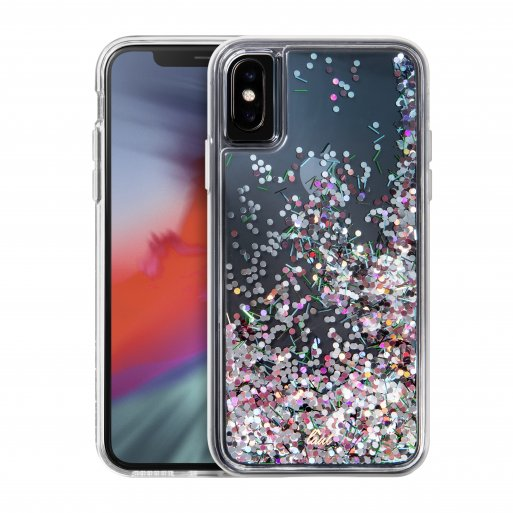 iPhone XR Handyhülle LAUT LIQUID GLITTER - Transparent