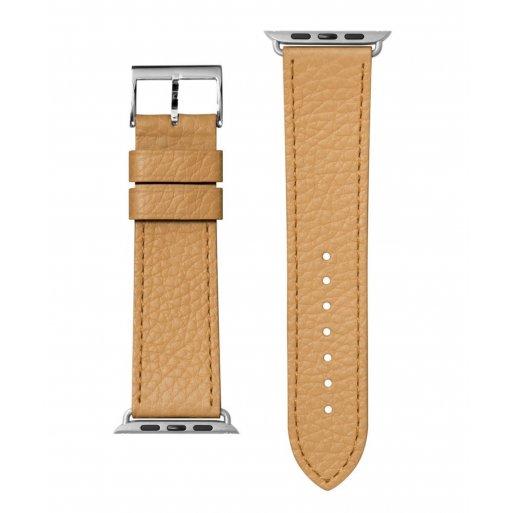 Apple Watch 6 44mm Armband LAUT MILANO Armband 42/44mm - Hellbraun