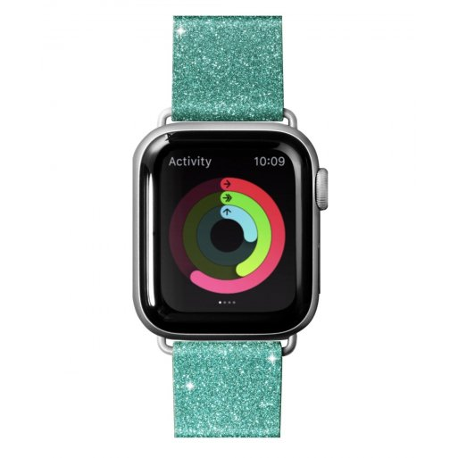 Apple Watch 5 40mm Armband LAUT OMBRE SPARKLE Armband 38/40mm - Türkis