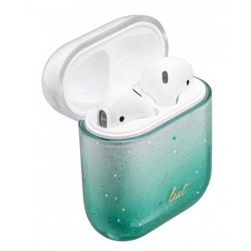 AirPods (1. & 2.Gen.) Case LAUT OMBRE Sparkle für Apple AirPods - Grün