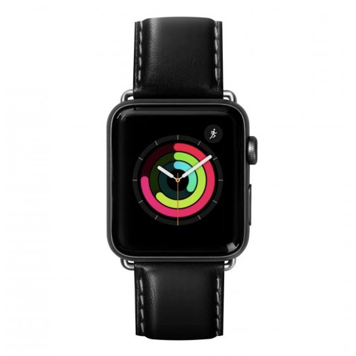 Apple Watch 2 38mm Armband LAUT OXFORD Armband 38/40mm - Schwarz
