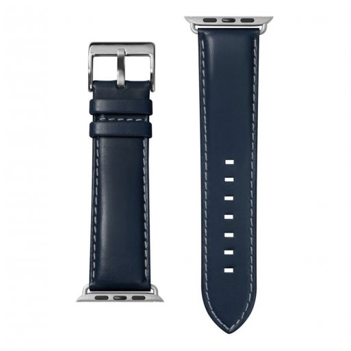 Apple Watch 6 44mm Armband LAUT OXFORD Armband 42/44mm - Blau