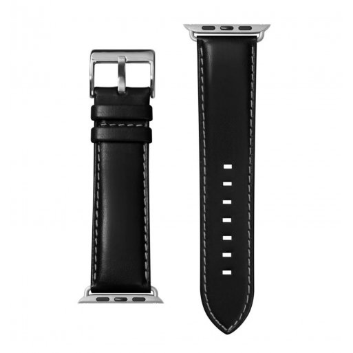Apple Watch SE 44mm Armband LAUT OXFORD Armband 42/44mm - Schwarz