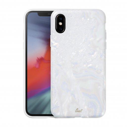 iPhone XR Handyhülle LAUT PEARL - Weiss