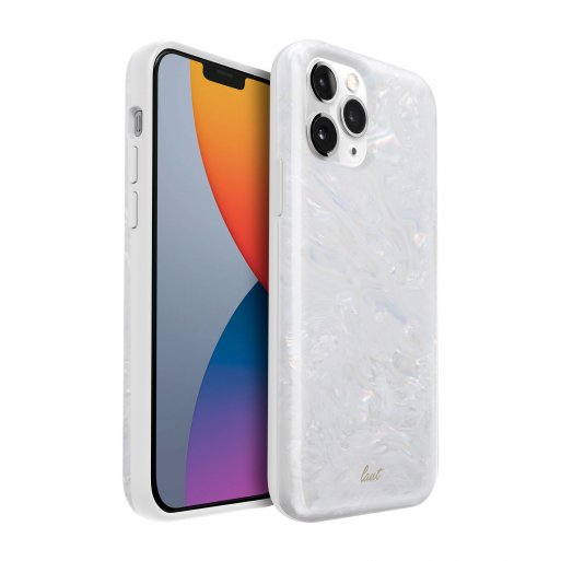 iPhone 12 mini Handyhülle LAUT PEARL - Weiss