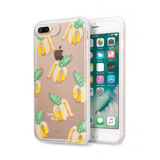 iPhone 8 Plus Handyhülle LAUT POP-INK Case inkl. 1x Screen Guard für ultimativen Schutz und einem vibranten Design für Ihr iPhone 6 Plus, 7 Plus & 8 Plus - Transparent