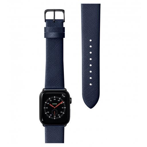 Apple Watch 6 44mm Armband LAUT PRESTIGE Armband 42/44mm - Blau