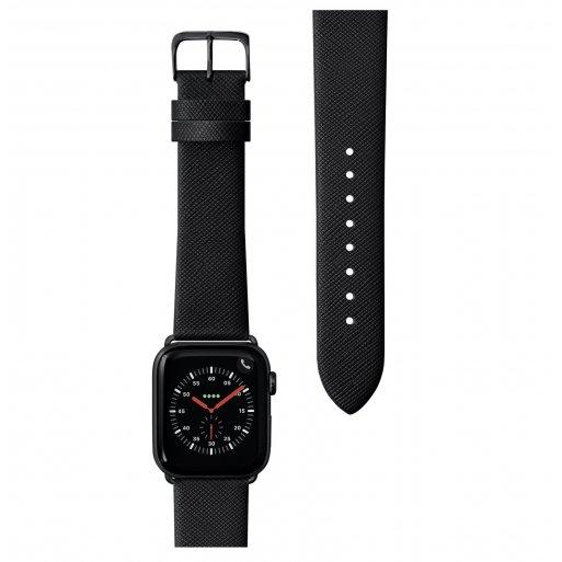 Apple Watch 6 44mm Armband LAUT PRESTIGE Armband 42/44mm - Schwarz