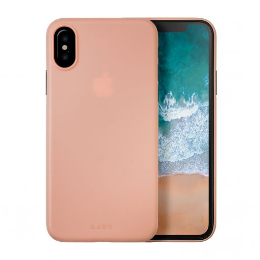 iPhone XS Handyhülle LAUT SLIMSKIN Case inkl. 2x Screen Guards und einem elegant schmalen Design für Ihr iPhone X/Xs (5.8'') - Pink