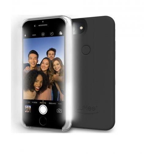 iPhone 6 Handyhülle LuMee II LED Selfie Case - Schwarz