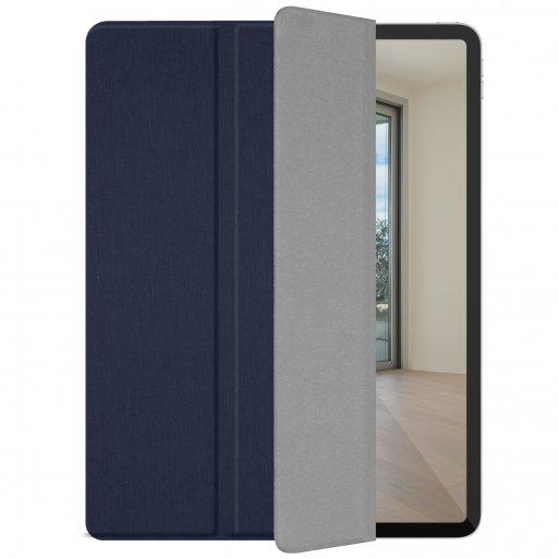 iPad Pro 12.9 (2018) Hülle Macally Bookstand Case - Dunkelblau