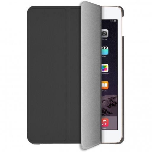 iPad 9.7 (2017) Hülle Macally Bookstand Case - Dunkelgrau