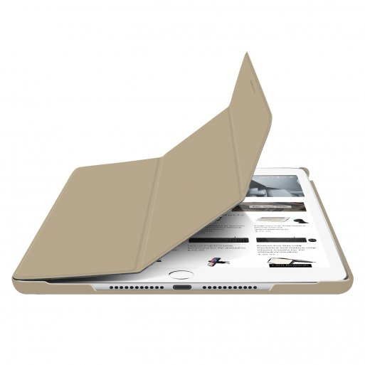 iPad 10.2 (2020) Hülle Macally Bookstand Case - Gold