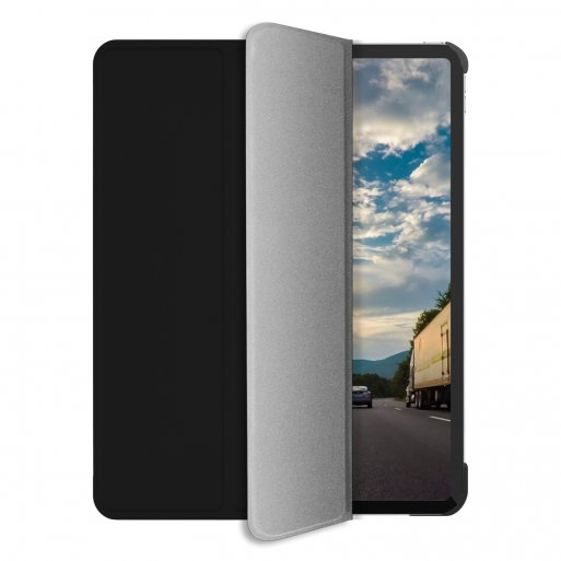 iPad Pro 12.9 (2020) Hülle Macally Bookstand Case - Schwarz