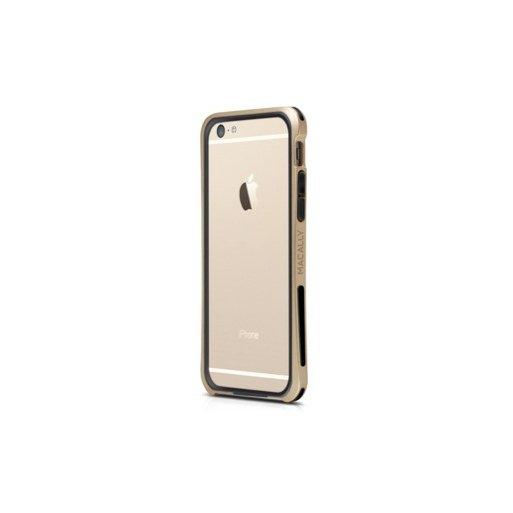 iPhone 6 Handyhülle Macally Flex Frame - Gold