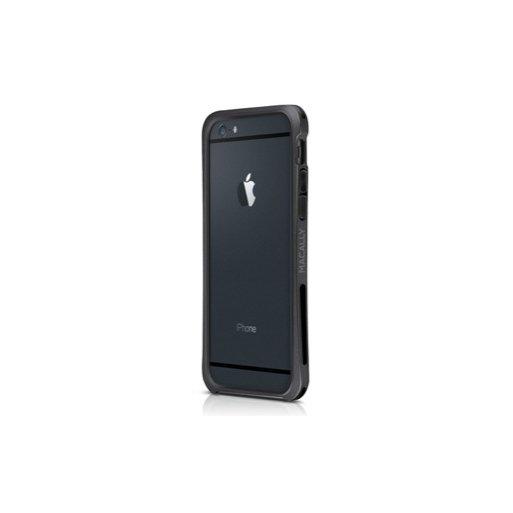 iPhone 6 Handyhülle Macally Flex Frame mit softtouch für verbesserten Schutz für iPhone 6 (4.7) - Schwarz