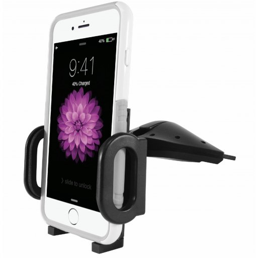 iPhone Autohalterung Macally MCDHOLDER Autohalterung CD Slot - Schwarz