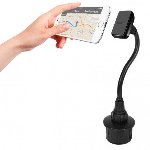 iPhone Autohalterung Macally MCUPMAG Magnetische Autohalterung - Schwarz