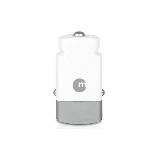 Apple Watch Autoladegerät Macally mini USB Car Charger - Weiss