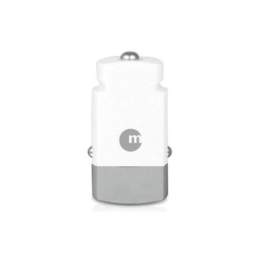 iPad Autoladegerät Macally mini USB Car Charger - Weiss